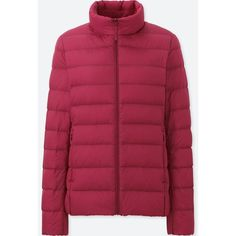 WOMEN ULTRA LIGHT DOWN JACKET ❤ liked on Polyvore featuring outerwear, jackets, red jacket, uniqlo, red down jacket, uniqlo jacket and down filled jacket