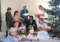 """Saved by Christopher Plummer: The stars of """"The Sound of Music"""" celebrated Christmas while filming the movie musical in Austria. The movie was released in Old School Movies, Old Movies, It Movie Cast, Movie Tv, Movies Showing, Movies And Tv Shows, Sound Of Music Movie, Aesthetic Experience, Christopher Plummer"""