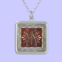 Monogram Necklace from A to Z