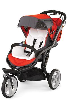 The Chicco S3 All-Terrain, 3-wheel stroller simplifies on-the-go lifestyles for active families.