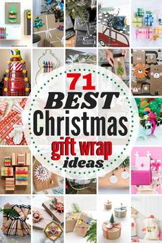 Here are the 71 BEST Christmas Gift Wrapping Ideas around! From merry & bright to rustic & refined, there are gorgeous gift wrap ideas for everyone on your list this holiday season. Some of these gift wrappings are a gift unto themselves! #christmas #giftwrapideas #wrappingideas #christmaswrappingideas #giftwrap #giftwrapping #christmasgiftwrapideas Christmas Gift Wrapping, Best Christmas Gifts, All Things Christmas, Holiday Crafts, Christmas Crafts, Christmas Ideas, Holiday Ideas, Origami Christmas, Winter Holiday