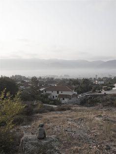 the village in the mist, Domatia - Greece