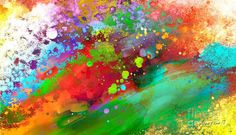 Image result for red coloured abstract art