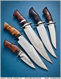 Beautiful Bowie knives