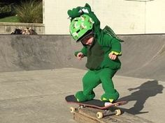 He may be pint-sized, but this toddler isn't afraid to try a few tricks on a skateboard. - New Zealand Herald