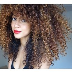 {Grow Lust Worthy Hair FASTER Naturally}        ========================== Go To:   www.HairTriggerr.com ==========================        The Contrasting Color on These Curls is HOT!