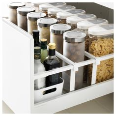 Küche MAXIMERA drawer high white Your Style, Your Budget Tired of ogling the latest styles in brand Ikea Kitchen Drawer Organization, Ikea Drawer Organizer, Ikea Kitchen Drawers, Ikea Drawers, Kitchen Storage, Kitchen Cabinets, Diy Kitchen, Kitchen Interior, Drawer Inspiration