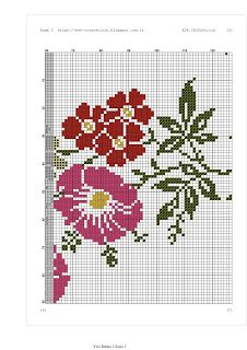 ESK.CROSSstitch: seccade modeli.1403 Prayer Rug, Crochet Tablecloth, Knitting Charts, Cross Stitch Flowers, Embroidery Stitches, Projects To Try, Bane, Jewellery, Cross Stitch Rose