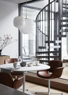 Shades of grey and a selection of luxurious Danish classics in this interior collaboration with ELLE Decoration.