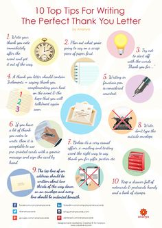 10 Tips To Write The Perfect Thank-You Letter - Creative ID