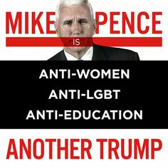 Mike Pence...Another Trump