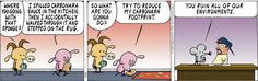 Nothing like a good carbonara - unless it hits the carpet-ara like in this #PearlsBeforeSwine #comic.  https://www.facebook.com/CraftArtworx-433784073469946