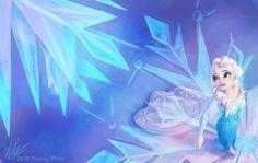 Elsa fan art.  Source: http://fc00.deviantart.net/fs70/f/2014/005/f/f/frozen_fractals_by_penny_dragon-d712jhr.jpg