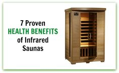 The 7 PROVEN health benefits of infrared saunas (including detoxification, weight loss, pain relief, anti-aging and more) Holistic Care, Holistic Medicine, Infared Sauna, Sauna Health Benefits, Infrared Sauna Benefits, 140 Lbs, Alternative Therapies, Back Pain Relief, Light Therapy