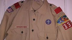On Ebay right now! BSA- Boy Scout/Webelos Uniform Shirt Youth XLarge- Great Condition!