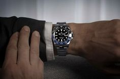 Rolex Presents New Black/Blue GMT-Master II at Baselworld 2013
