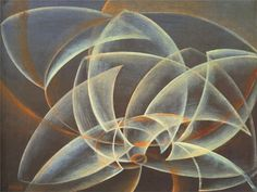 Giacomo BALLA :: Vortex Space Form (1914)