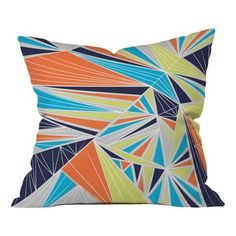 Found it at Wayfair - Tech It Out Retro Indoor/outdoor Throw Pillow