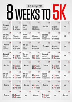 8 Weeks to 5K Challenge!