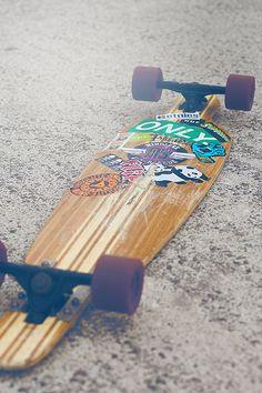 long board stickers