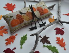 Welcome !: Chessie and Me - Pumpkin Row Pincushion