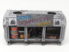 Necromunda Shipping Container Shops Complete In 2020 Container