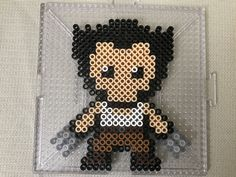 Wolverine Perler Bead Design