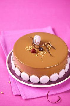 Verdade de sabor: Чернично-яблочный торт с молочным шоколадом и кори...