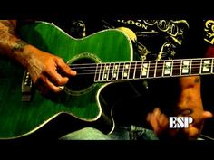ESP Guitars: George Lynch demos the LTD Xtone AC-20E acoustic guitar