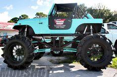 Jeep mud truck