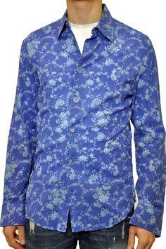 Camicia con disegno floreale Frankie Morello