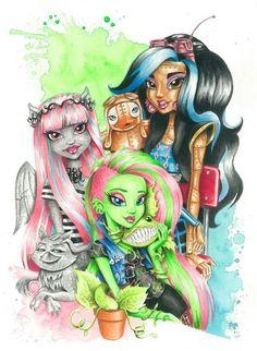 29 Best Monster High Drawings Images Monster High Dolls Monster