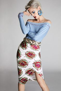 Coco Rocha Beauty Looks for FASHION Magazine April 2017 Issue Coco Rocha wears Altuzarra top, skirt, belt and earrings with Botkier ring for FASHION Magazine April 2017 Issue High Fashion Poses, Fashion Model Poses, Fashion Shoot, Editorial Fashion, Fashion Models, Vogue Poses, Fashion Photography Poses, Glamour Photography, Lifestyle Photography