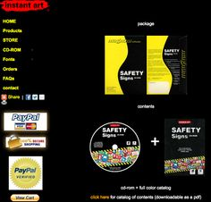 instant art© Safety Signs CD-ROM Europe