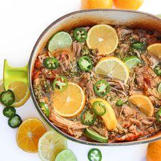 The Hungry Hounds— Yucatán Citrus Pulled Pork, Cochinita Pibil Pork Recipes, Mexican Food Recipes, Crockpot Recipes, Cooking Recipes, Ethnic Recipes, Mexican Meals, Family Recipes, Healthy Recipes, Appetizers