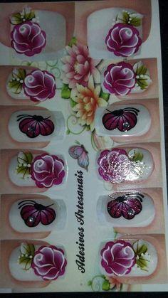 Daisy Nails, Toe Nails, Diy And Crafts, Nail Designs, Nail Polish, Nail Art, My Favorite Things, Pattern, Painting