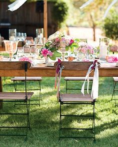Garden style - perfect for a garden party