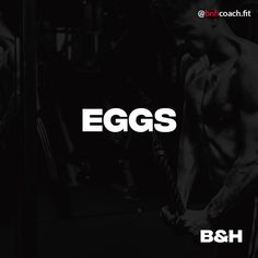 EGGS How often do you eat eggs? Write in the comment down below! Eggs contain almost all the nutrients needed by human. Did You Eat, Eggs, Writing, Fitness, Egg, Being A Writer, Egg As Food