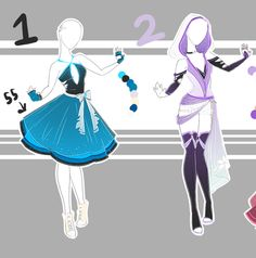 .::Adoptable Collection 11::. by Scarlett-Knight.deviantart.com on @DeviantArt