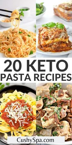 These mouth-watering keto pasta recipes are the perfect low carb comfort food to indugle in after a long day to keep you in ketosis. Make these comforting low carb pasta dishes and enjoy burning more fat. #LowCarb #Pasta Ketogenic Recipes, Keto Recipes, Keto Foods, Cheese Recipes, Keto Pasta Recipe, Pasta Recipes, Low Carb Diet, Pasta Dishes, Salmon Burgers