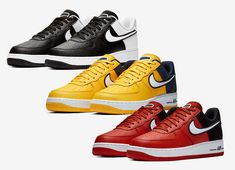 the latest 113ab 097fd Nike Adds New Tongue Logos To The Air Force 1