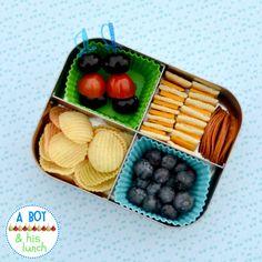 Quick & Easy Bento for a toddler!