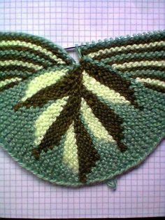This Pin was discovered by SveRU Sippers knit short row leaves part b Knitting Socks, Knitting Stitches, Baby Knitting, Knitting Patterns, Crochet Patterns, Free Knitting, Crochet Boots, Crochet Jacket, Tunisian Crochet