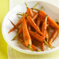 Baby Carrots With Dill Butter and Lemon