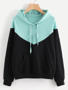 NEW Patchwork Sweatshirt Women Harajuku Casual Hoodies Tops Ladies Long Sleeve Oversized Hip Hop Pullover Tops Cropped Hoodie Hoodie Sweatshirts, Pullover Hoodie, Hoody, Cropped Hoodie, Black Hoodie, Stylish Hoodies, Cool Hoodies, Hoodies For Girls, Girls Fashion Clothes