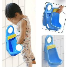 75% Off was $60.00, now is $14.99! Vktech Potty Training Urinal for Boys Pee,Blue