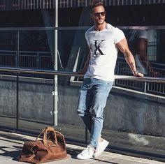 Street style by Magic Fox #fashion #casual #menswear