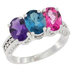Landon Blue Topaz Ring - Call Us for Afford Price at (213) 689-1488 or info@silvercity.com