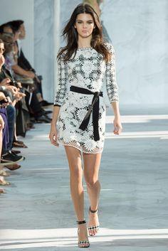 Kendall Jenner, SS15 RTW,DVF runway | Mail Online