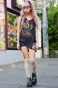 Julia Nakagawa's STYLE -TOKYO STREET STYLE   スタイルアリーナ style-arena.jp